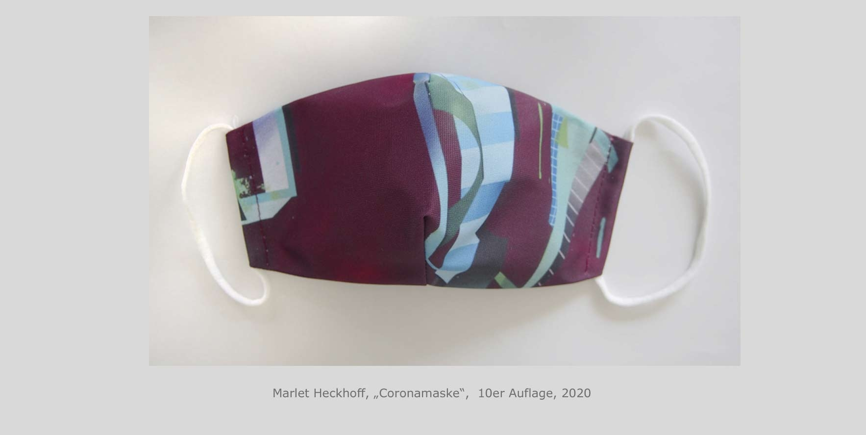 Marlet Heckhoff, Corona Maske